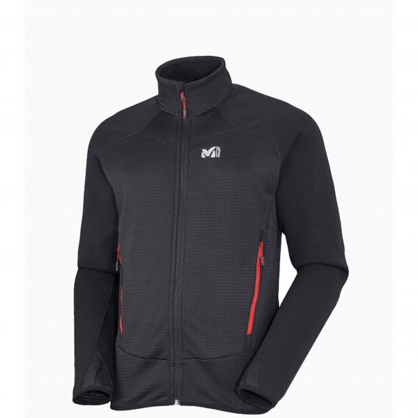 MILLET Black men mountaineering fleece On Sale