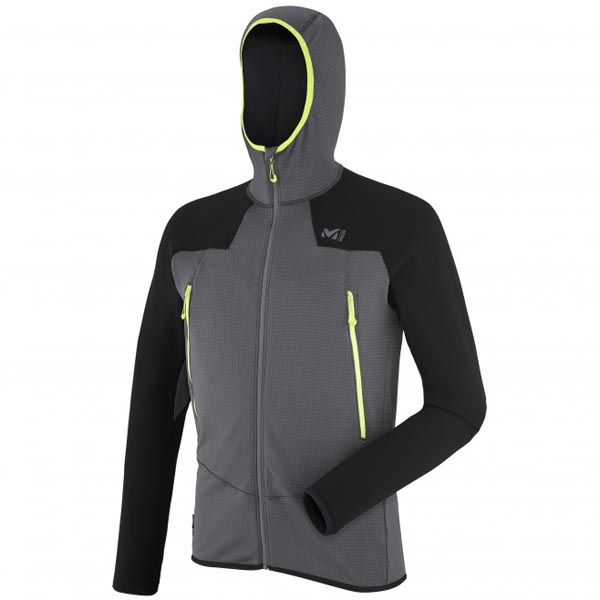 Cheap MILLET Chamonix K powergrid hoodie Men Grey Online