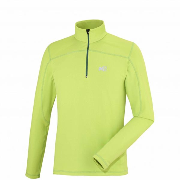 Men MILLET TECHNOSTRETCH PO Green Outlet Store