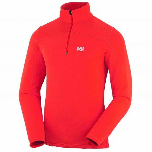 MILLET Red men trekking fleece On Sale