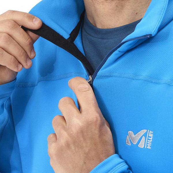 MILLET men\'s blue trekking fleece On Sale