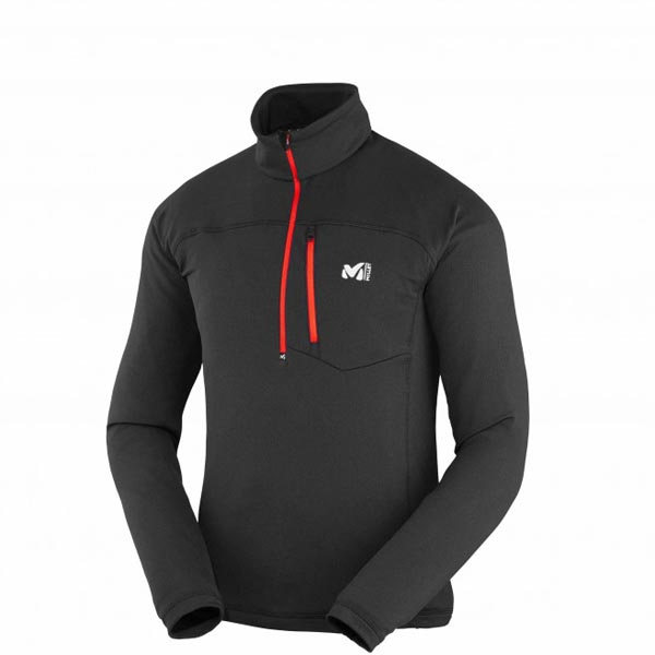 MILLET Men TECHNOSTRETCH ZIP Black Outlet Online