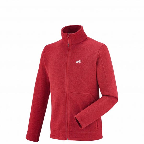 MILLET Men HICKORY FLEECE JKT Red Outlet Online