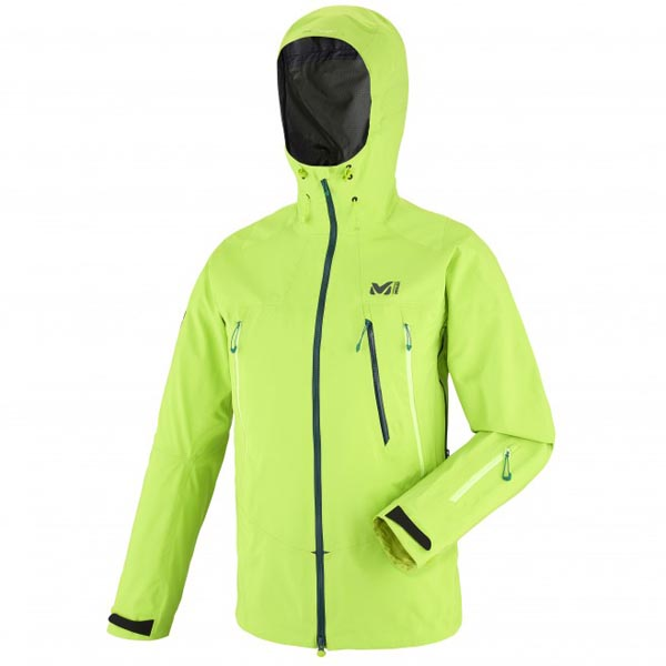 MILLET Mountaineering - green jacket for men On Sale