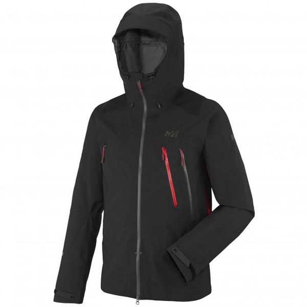 MILLET black mountaineering Jacket for men On Sale