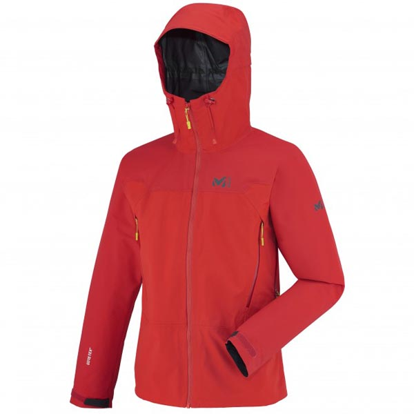 MILLET men's red mountaineering jacket On Sale