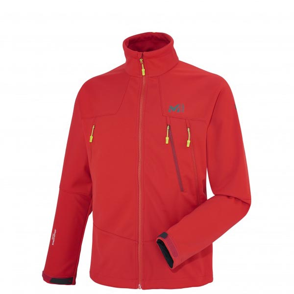 Men MILLET K WDS JKT Red Outlet Store