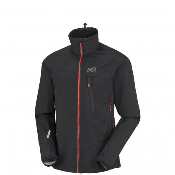 MILLET Black men mountaineering softshell On Sale