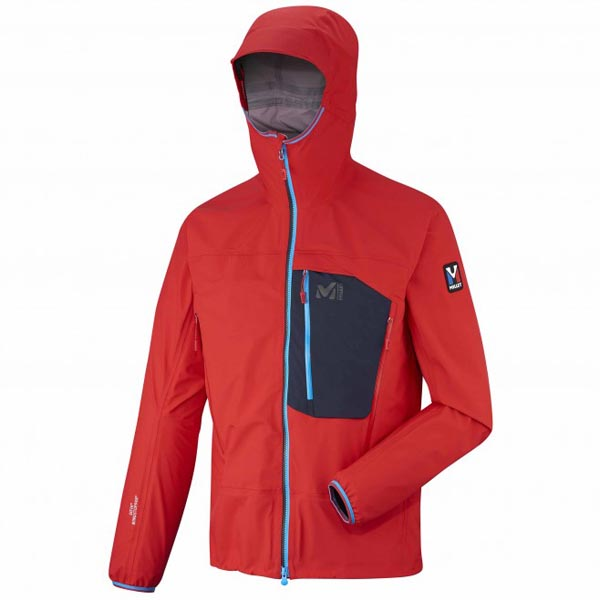 MILLET men\'s red mountaineering softshell On Sale