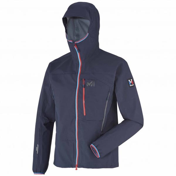 MILLET men's blue mountaineering softshell On Sale