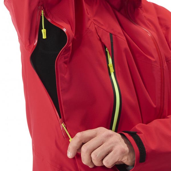 MILLET men\'s red mountaineering jacket On Sale
