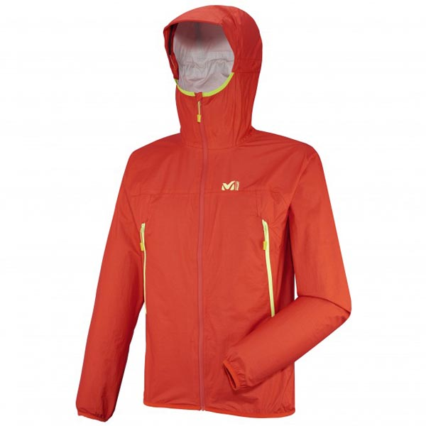 MILLET trail running - Men's Jacket - Orange On Sale