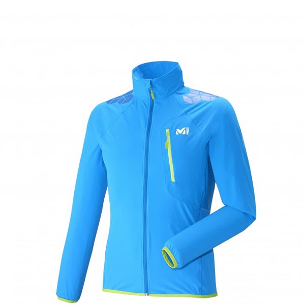 MILLET trail running - Men\'s Jacket - Blue On Sale