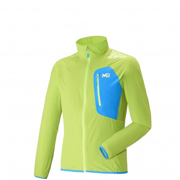 MILLET TRAIL RUNNING - MEN'S JACKET - GREEN On Sale