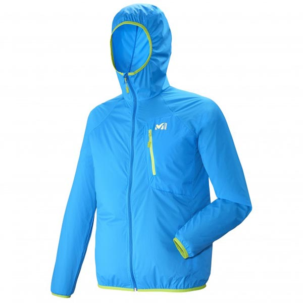 Men MILLET LTK AIRSTRETCH HOODIE Blue Outlet Store