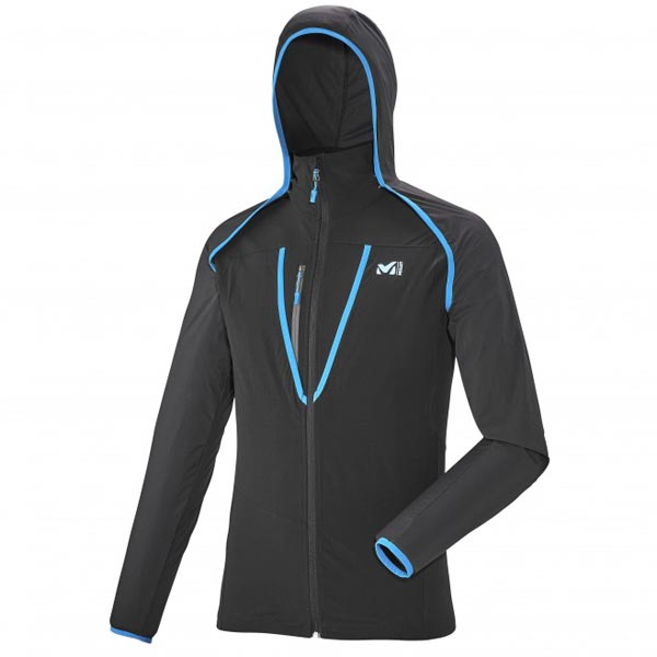 MILLET TRAIL RUNNING - MEN'S JACKET - BLACK On Sale