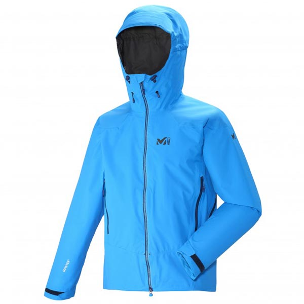Men MILLET DUAL ASCENT GTX JKT Blue Outlet Store