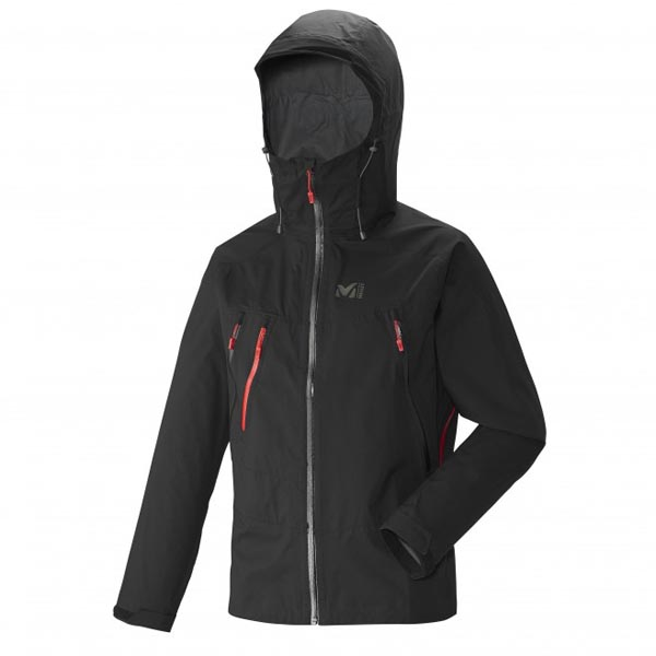 MILLET MOUNTAINEERING - MEN\'S JACKET - BLACK On Sale