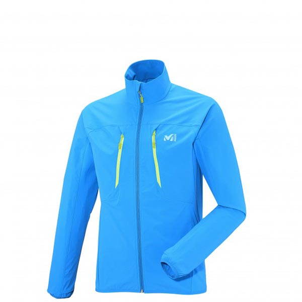 MILLET TRAIL RUNNING - MEN'S JACKET - BLUE On Sale