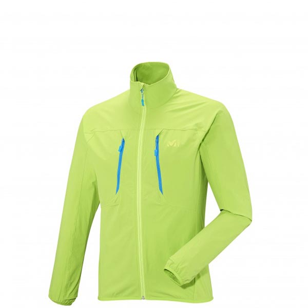 MILLET trail running - Men\'s Jacket - Green On Sale