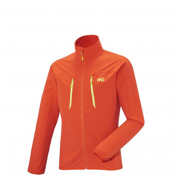 Men MILLET LTK RUSH XCS JKT Orange Outlet Store