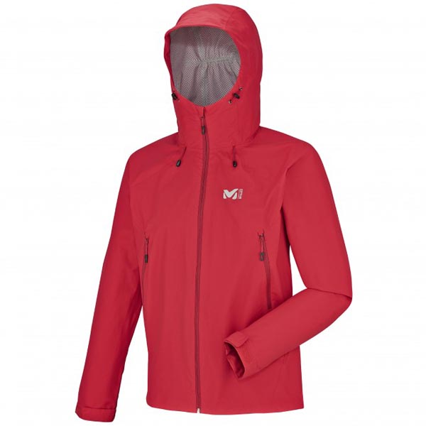 MILLET red hiking Jacket for men On Sale