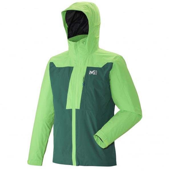 MILLET TREKKING - MEN\'S JACKET - GREEN On Sale