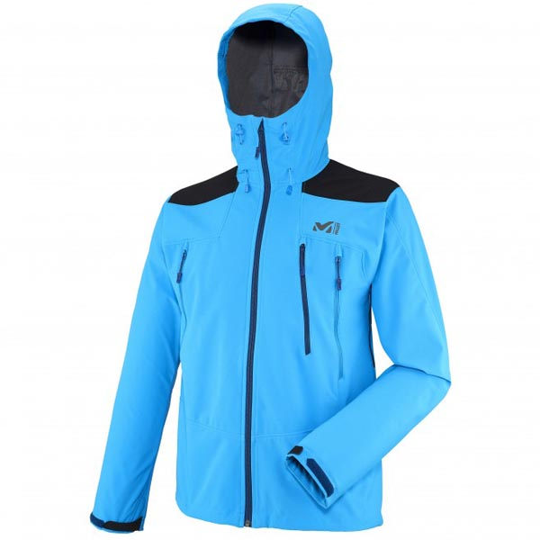 Cheap MILLET K SHIELD HOODIE Men Blue Online