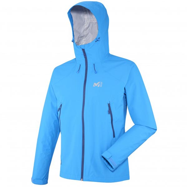 MILLET TREKKING - MEN'S JACKET - BLUE On Sale