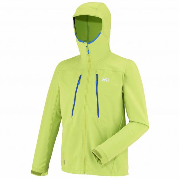 Men MILLET TOURING SHIELD HOODIE Green Outlet Store