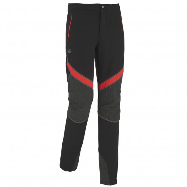 MILLET black mountaineering trousers for men On Sale
