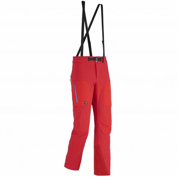 MILLET men's red mountaineering pant On Sale