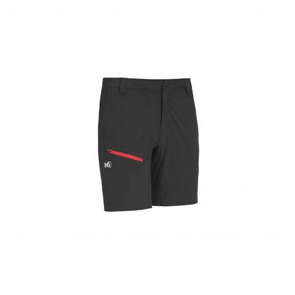 Men MILLET RED MOUNTAIN STRETCH SHORT BLACK Outlet Store