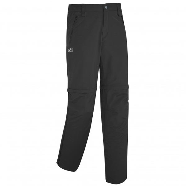 Men MILLET MOUNT CLEVELAND ZIP OFF PANT BLACK Outlet Store