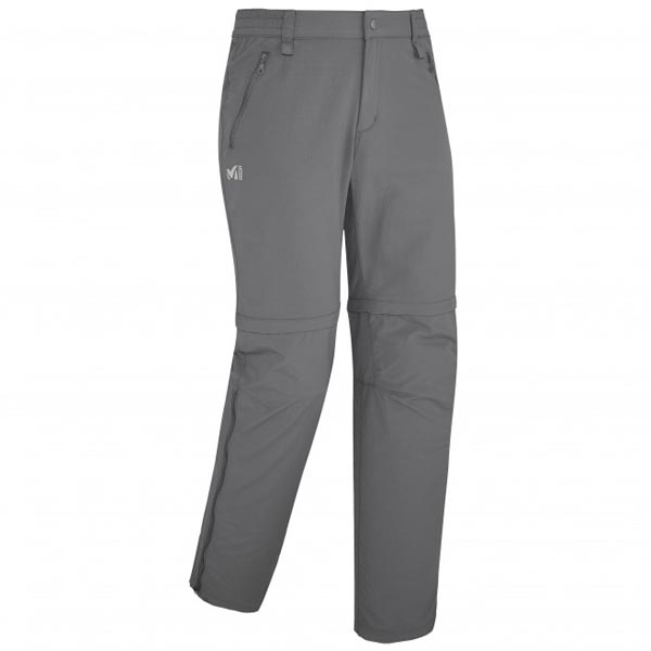 MILLET Men MOUNT CLEVELAND ZIP OFF PANT GREY Outlet Online