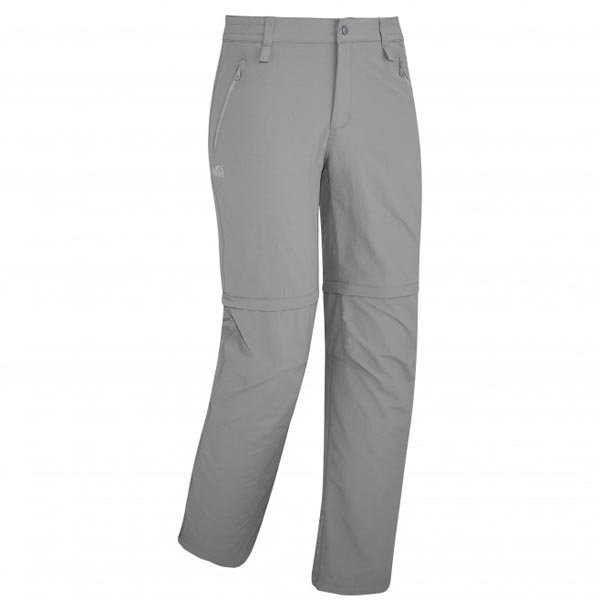 Men MILLET MOUNT CLEVELAND ZIP OFF PANT GREY Outlet Store