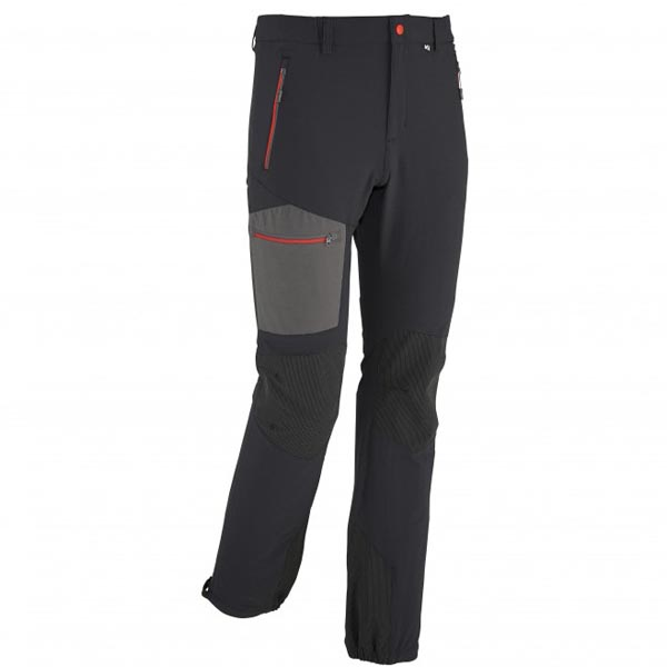 Men MILLET LEPINEY CORDURA PANT BLACK Outlet Store