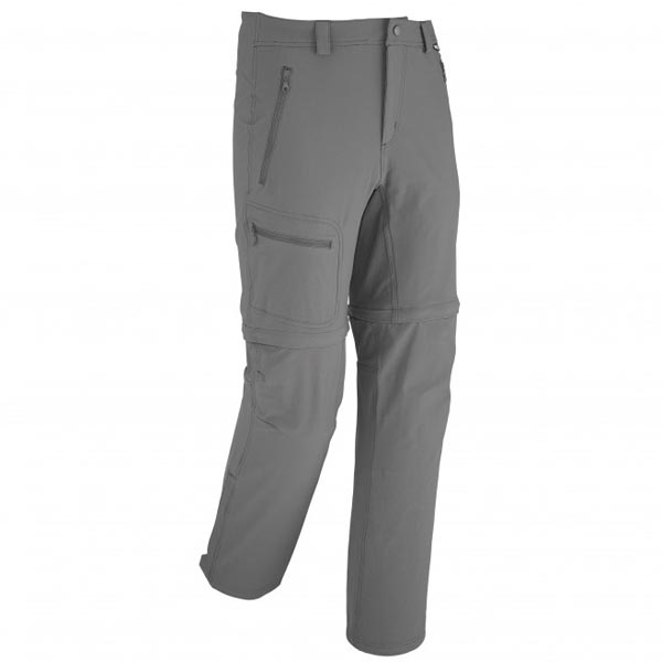 Men MILLET TREKKER STRECH ZO PANT GREY Outlet Store