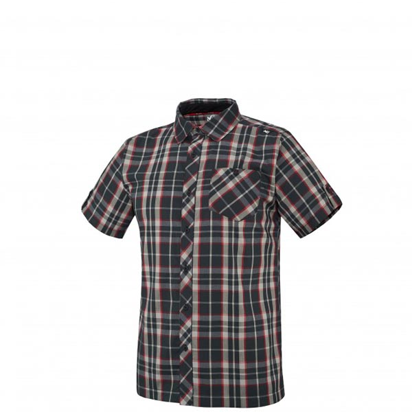 MILLET Men KINGS PEAK WOOL SS SHIRT Black Outlet Online