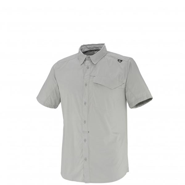 MILLET Men DEEP CREEK SS SHIRT Grey Outlet Online