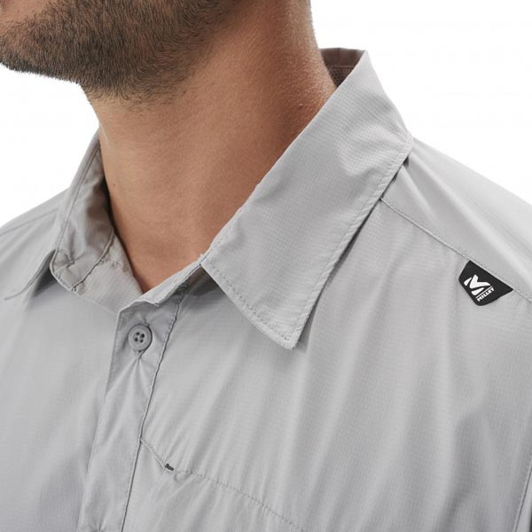 Men MILLET DEEP CREEK SS SHIRT Grey Outlet Store