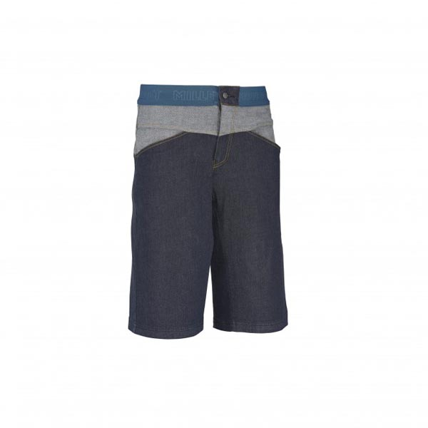 Men MILLET KARAMBONY DENIM LONG SHORT Blue Outlet Store