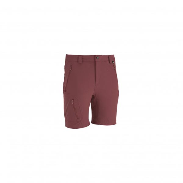 Men MILLET TREKKER STRETCH SHORT Red Outlet Store
