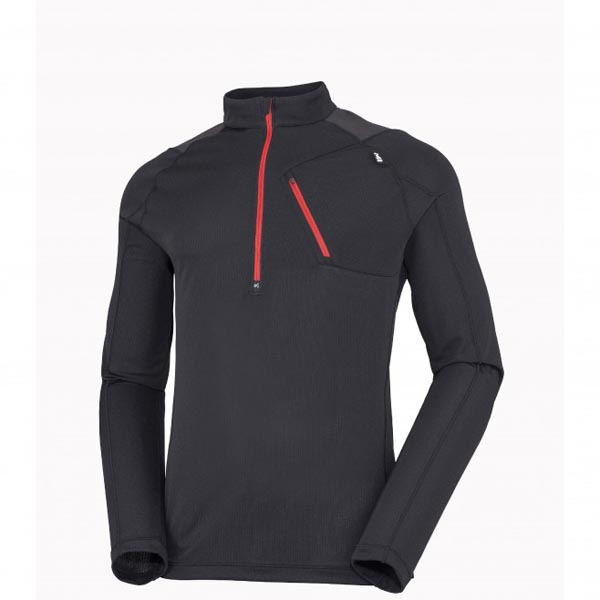 Cheap MILLET RED NEEDLES ZIP LS Men BLACK Online