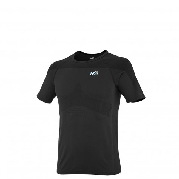 Men MILLET LTK SEAMLESS TS SS BLACK Outlet Store