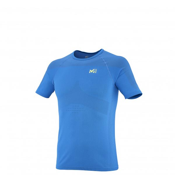 MILLET Men LTK SEAMLESS TS SS BLUE Outlet Online