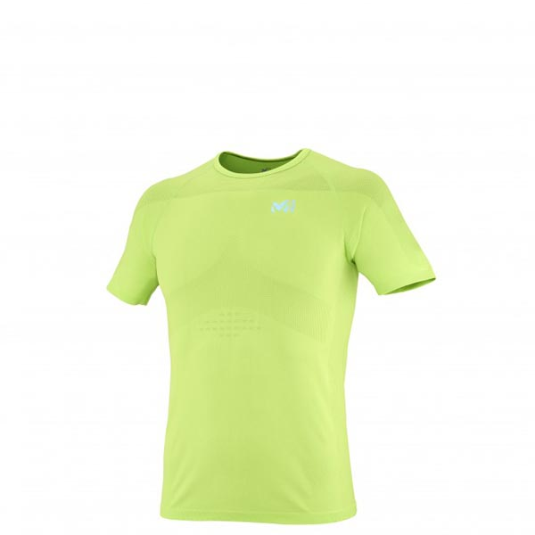 Men MILLET LTK SEAMLESS TS SS GREEN Outlet Store