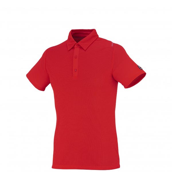 Men MILLET TRILOGY DRY GRID POLO RED Outlet Store