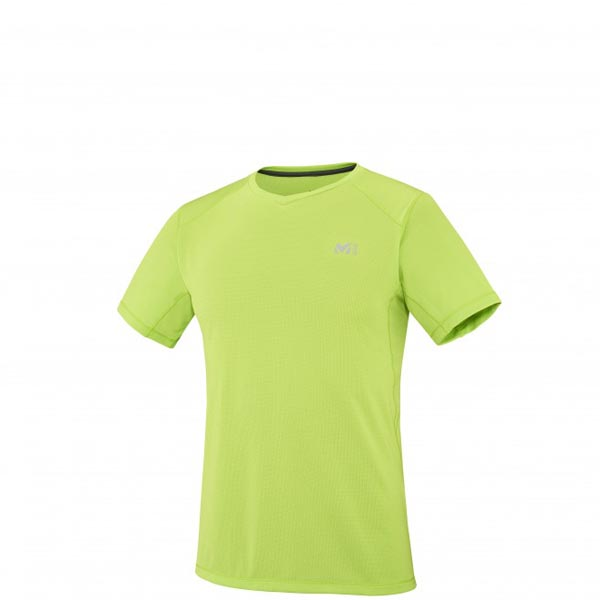 MILLET MOUNTAINEERING - MEN\'S T-SHIRT - GREEN On Sale