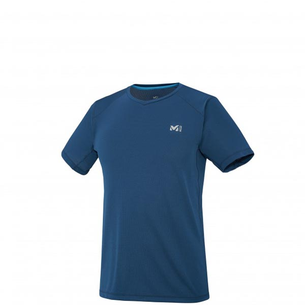 Men MILLET ALPINE TS SS BLUE Outlet Store